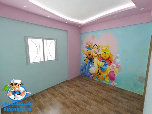 احدث الوان حوائط غرف بنات 2021